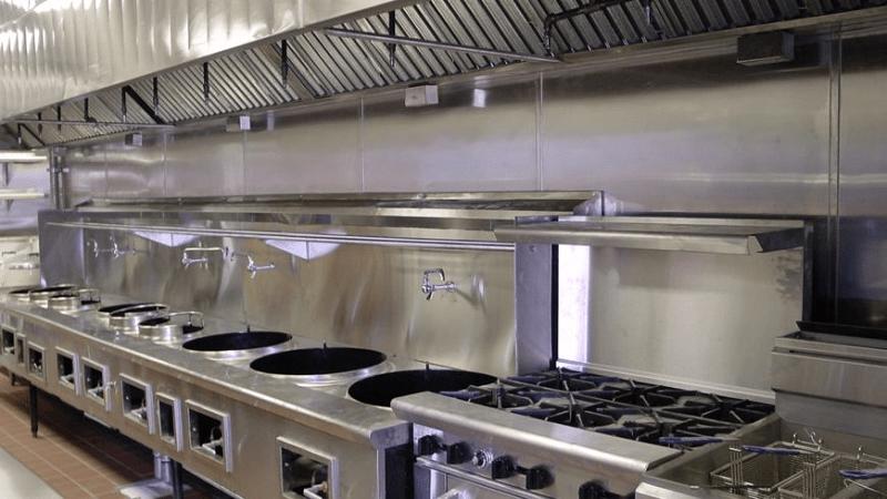 gia công bếp ga công nghiệp