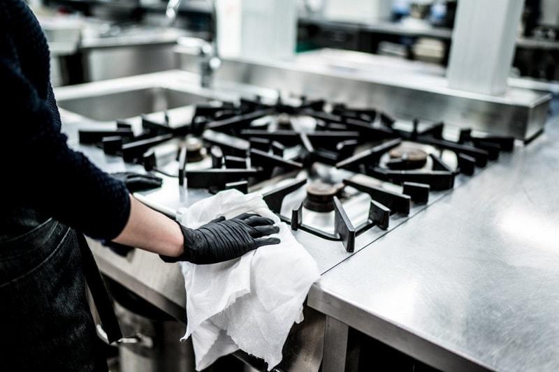 vệ sinh bếp inox