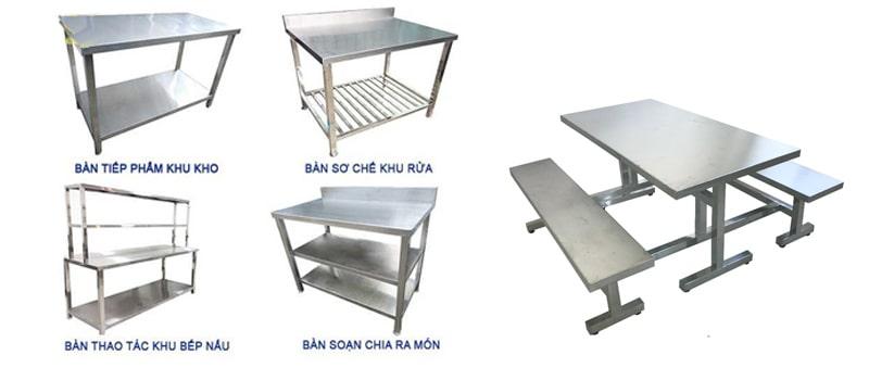 bàn inox 304