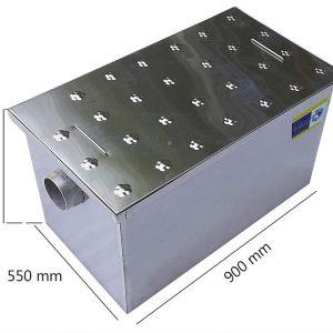 bể tách mỡ nhà hàng lắp âm sàn 250L