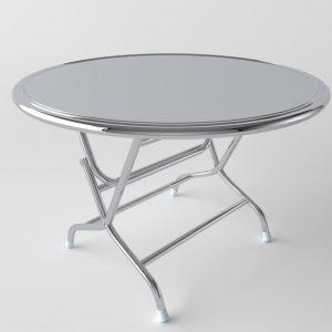 bàn inox tròn
